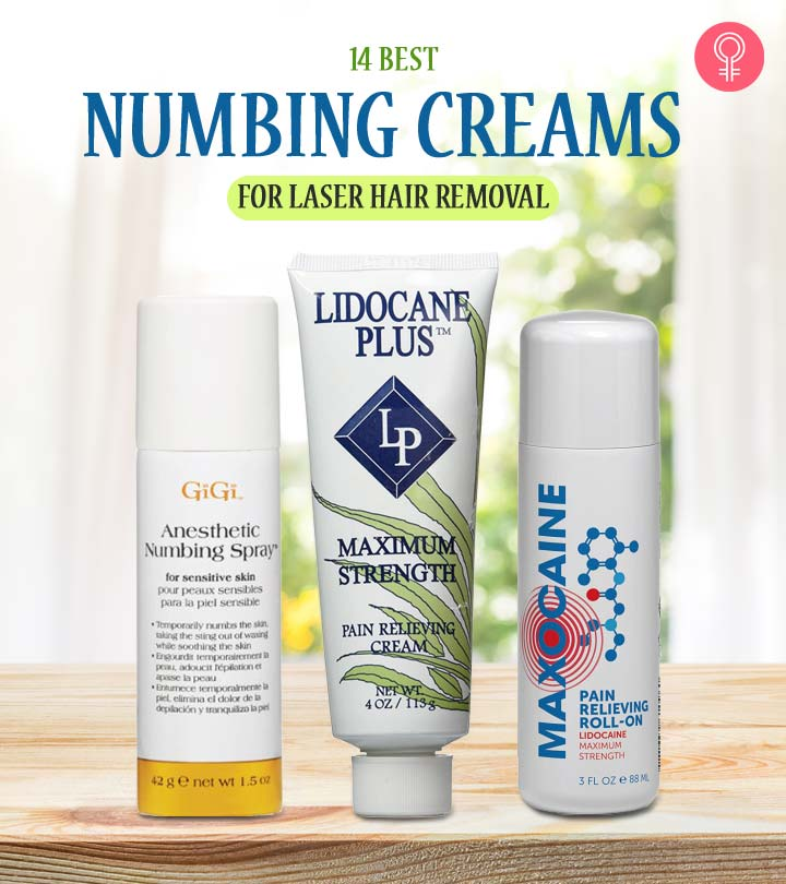14 Best Numbing Creams For Laser Hair Removal