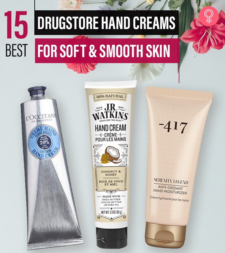 15 Best Drugstore Hand Creams (2021) For Soft And Smooth Skin