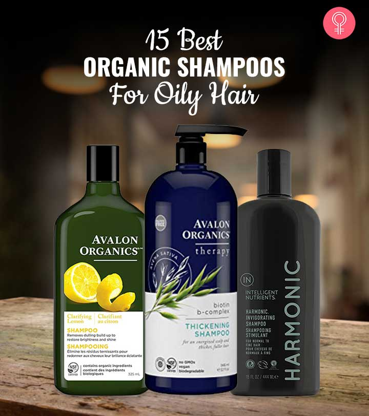 15 Best Organic Shampoos For Oily Hair