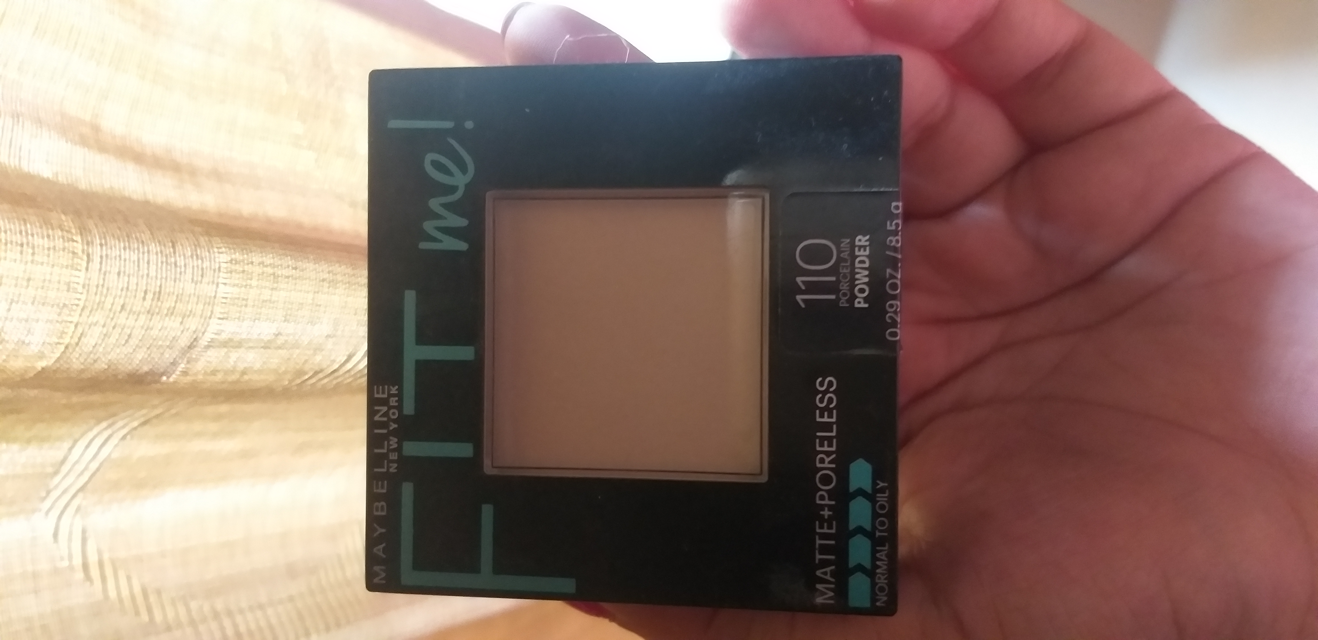Maybelline Fit Me Matte And Poreless Powder-Super compact!-By thatkohlgirl