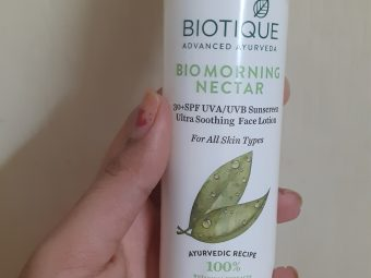 Biotique Morning Nectar Flawless Skin Lotion -Good-By shilpasunil_