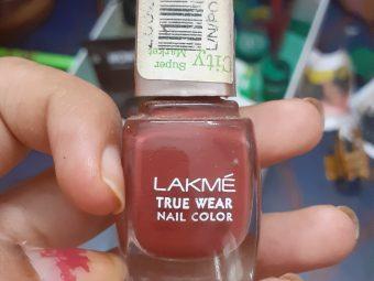 Lakme True Wear Nail Color -Good-By shilpasunil_