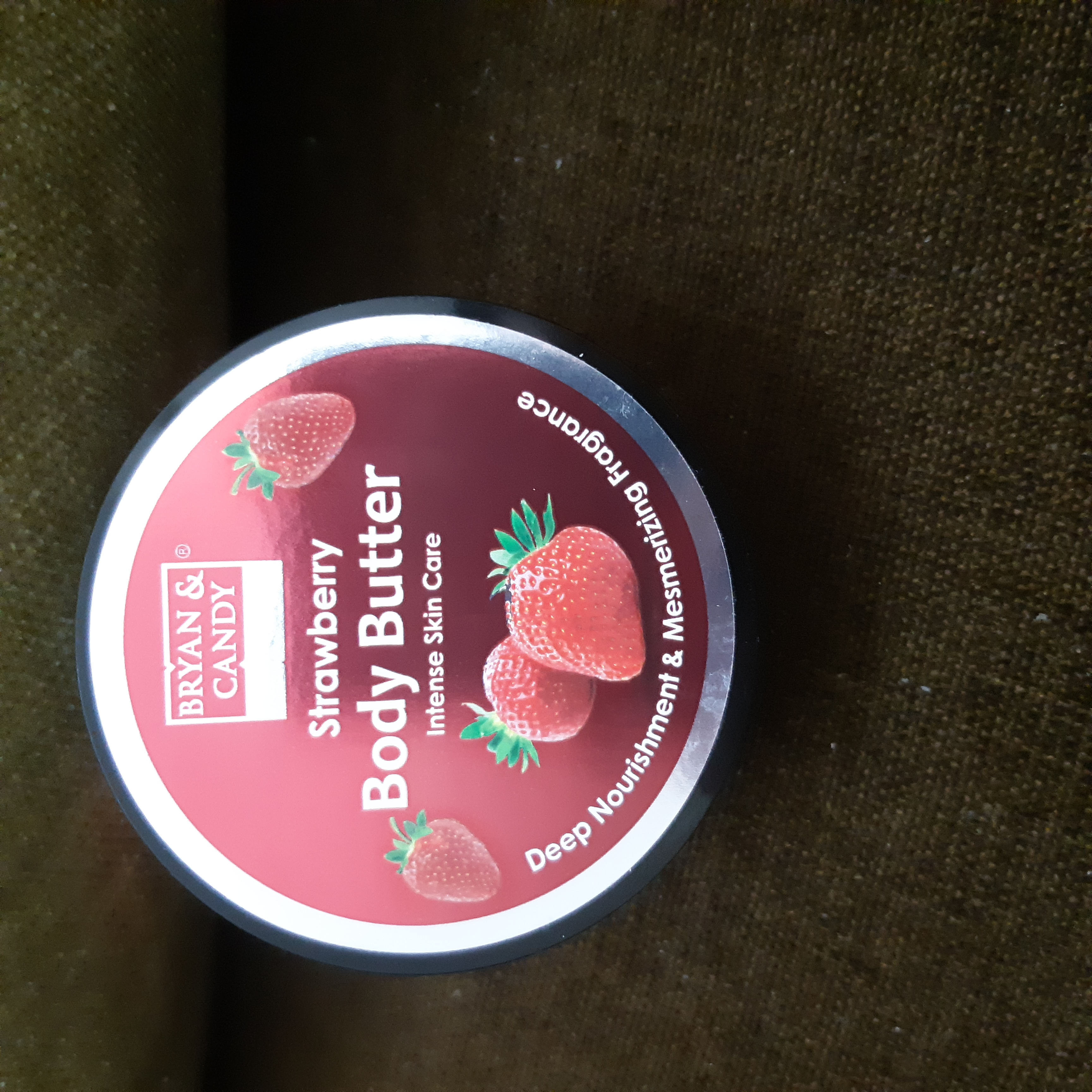 Bryan & Candy New York Strawberry Body Butter-Good body butter for youthful skin appearance-By themombliss
