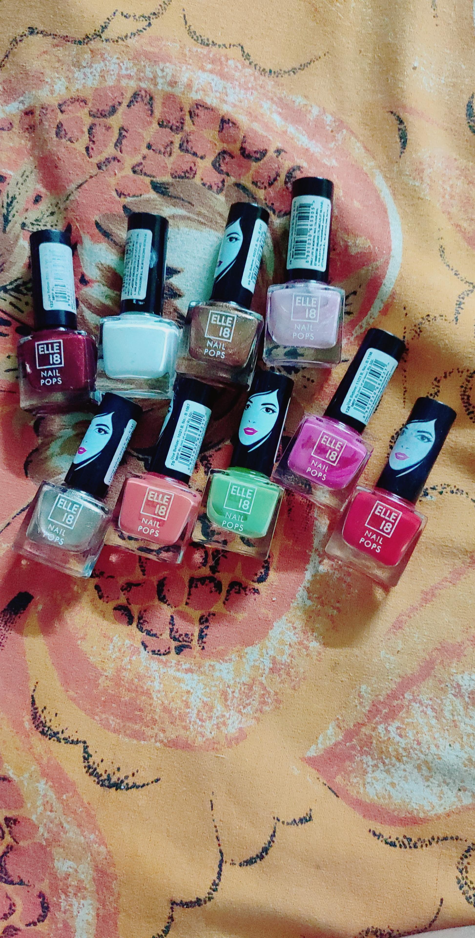 Elle 18 Nail Pops Nail Polish-Most affordable nailpaint-By sneha8620