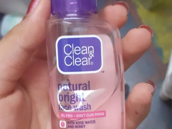 Clean & Clear Natural Bright Face Wash -Good for daily use-By shilpasunil_