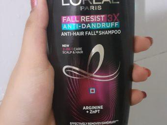 L'Oreal Paris Fall Resist 3x Anti Dandruff Anti Hair Fall Shampoo -Ok-By shilpasunil_