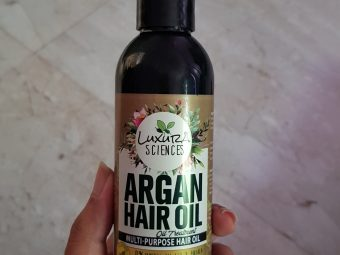 Luxura Sciences Argan Hair Oil 200 ml pic 2-Its light, I could also use it as a Hair Serum-By krishnapriya_kondi