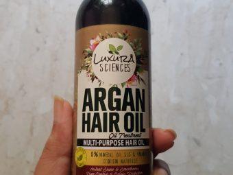 Luxura Sciences Argan Hair Oil 200 ml pic 1-Its light, I could also use it as a Hair Serum-By krishnapriya_kondi