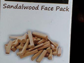 Indus Valley Bio Organic Sandalwood Face Pack Powder -Great-By sumangothwal