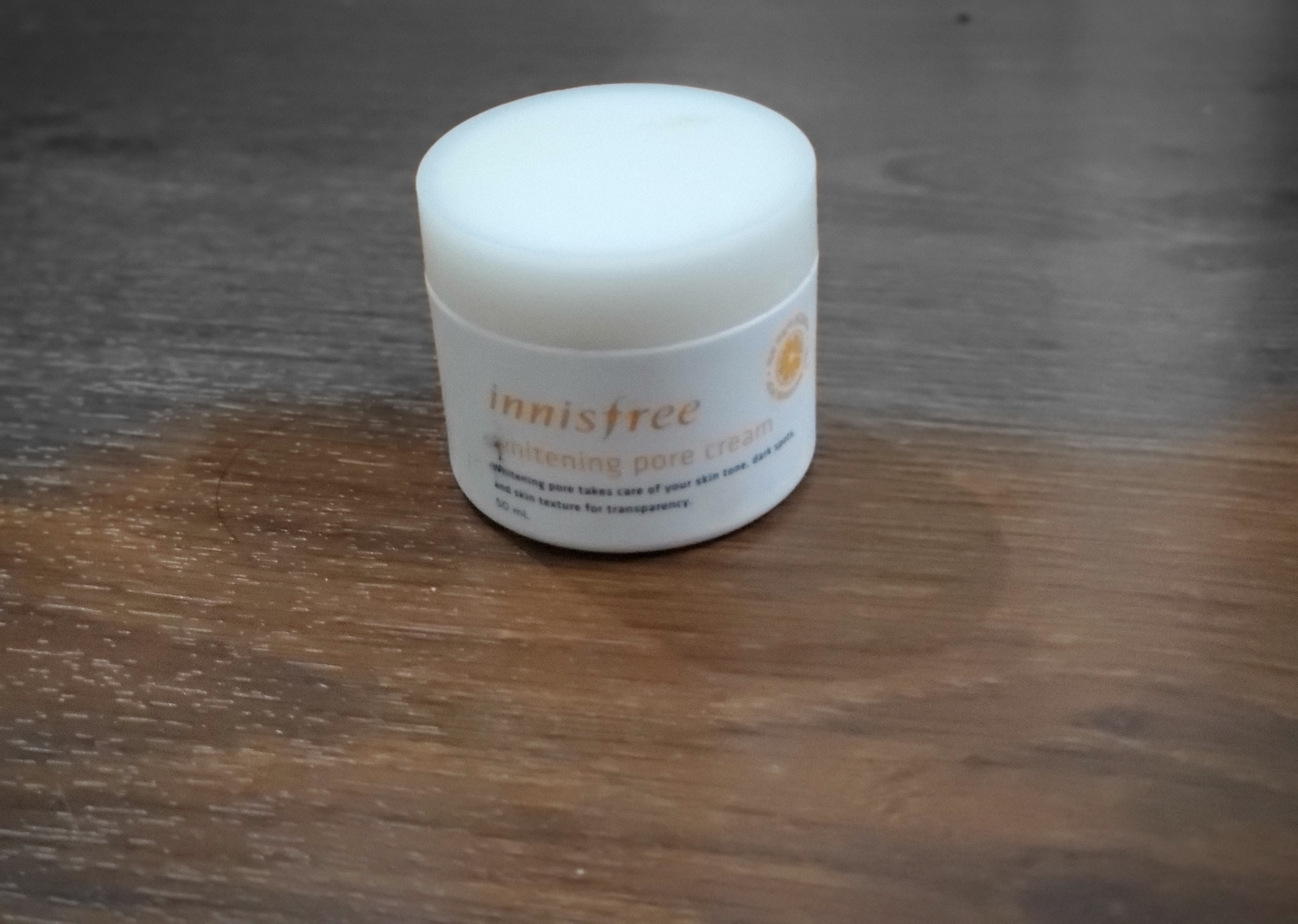 Innisfree Whitening Pore Cream-The only skincare routine you need!-By vasundhra_khatter