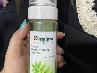 Himalaya Herbals Purifying Neem Foaming Face Wash -Must have product-By shachi_sharma