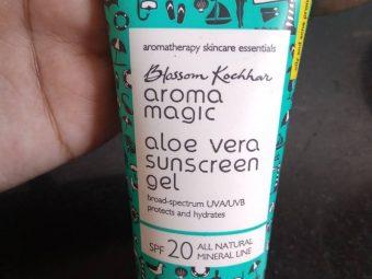 Aroma Magic Aloe Vera Sunscreen Gel pic 2-Skin friendly product-By sukanyapulakkal