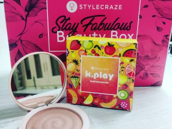MyGlamm K.PLAY FLAVOURED HIGHLIGHTER – RIPE MELON -Try it and you will love it for sure..!!-By anmol_agrawal
