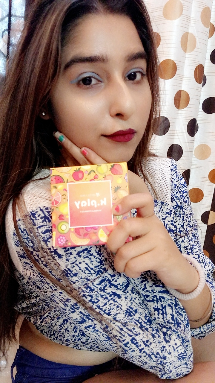 MyGlamm K.PLAY FLAVOURED COMPACT-My Glamm is a Glam-By jyotiraj