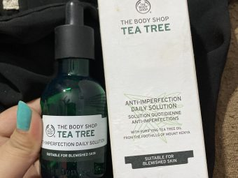 The Body Shop Tea Tree Anti-Imperfection Daily Solution pic 1-Highly Recommended-By shachi_sharma