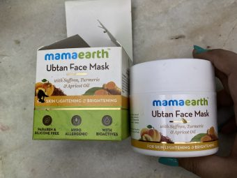 MamaEarth Ubtan Face Mask pic 1-Best face pack-By shachi_sharma