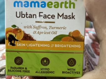 MamaEarth Ubtan Face Mask pic 2-Best face pack-By shachi_sharma