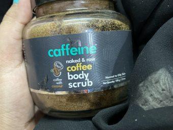 MCaffeine Naked & Raw Coffee Body Scrub -Smoothness the skin-By shachi_sharma