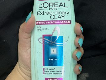L'Oreal Paris Extraordinary Clay Conditioner -Hydrates the scalp and improves dry-ends of hair-By shachi_sharma