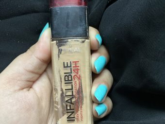 L'Oreal Paris Infallible 24H Foundation -Best foundation-By shachi_sharma