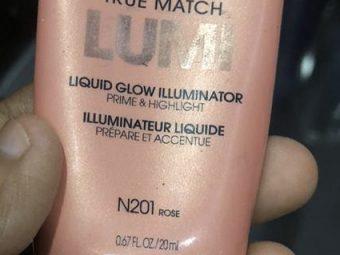 L'Oreal Paris True Match Lumi Liquid Glow Illuminator -Mix in foundation-By shachi_sharma