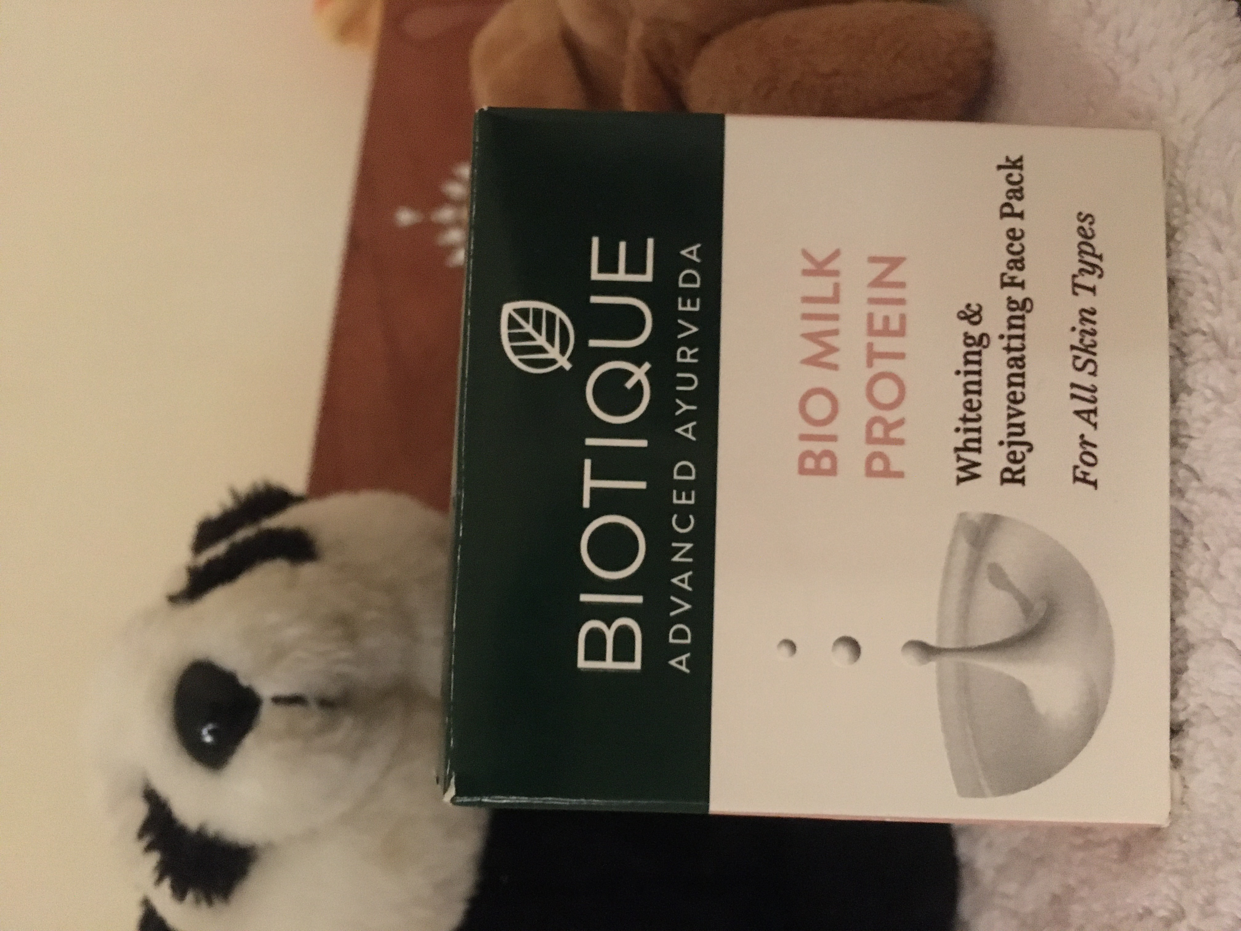 Biotique Bio Milk Protein Whitening & Rejuvenating Face Pack -Nothing can this beat protein for face-By kaur_sucheta