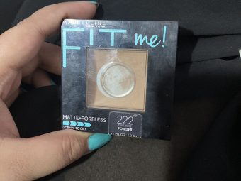 Maybelline Fit Me Matte And Poreless Powder pic 1-All in one compact-By shachi_sharma