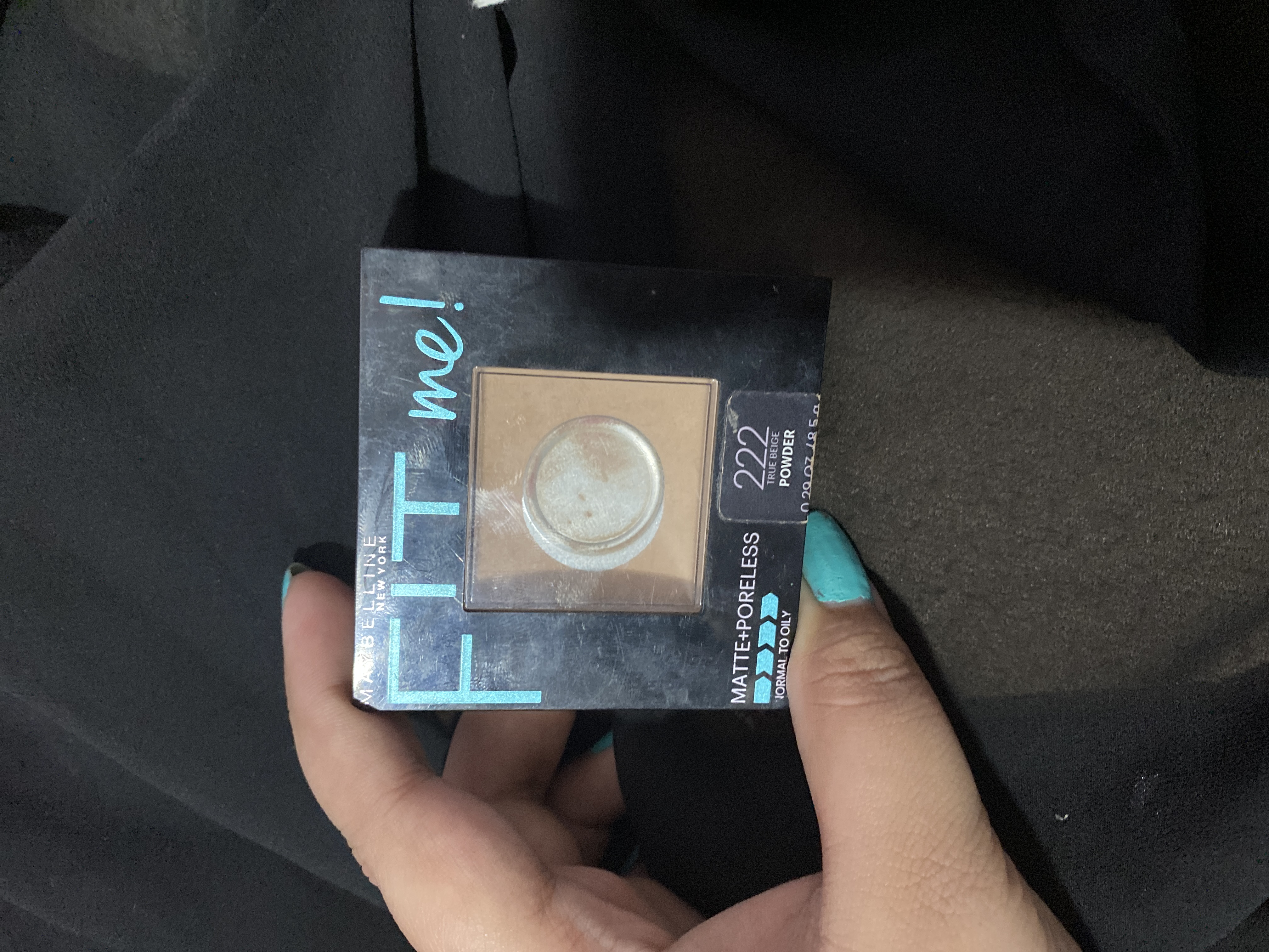 Maybelline Fit Me Matte And Poreless Powder-All in one compact-By shachi_sharma-1