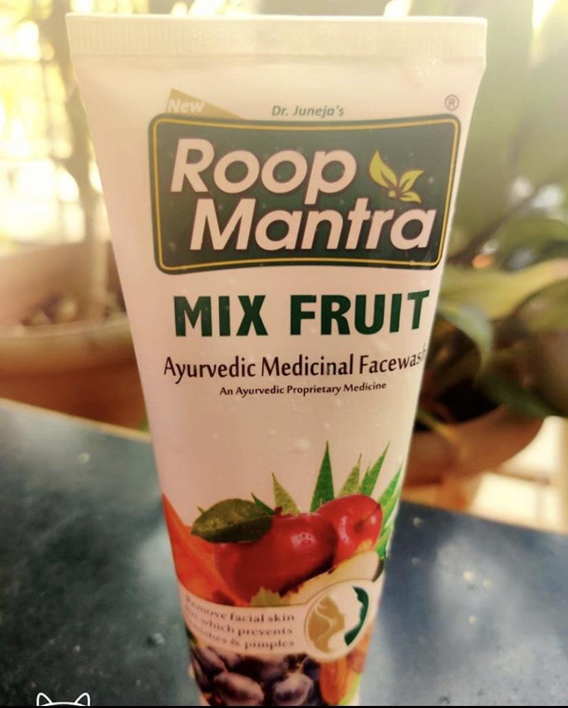 Roop Mantra Mix Fruit Face Wash-Skintelligent-By tanya_k