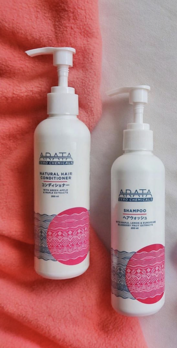 Arata Green Apple Raspberry Maple Hair Conditioner-My favourite conditioner-By shriekz-1