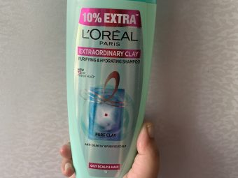 L'Oreal Paris Extraordinary Clay Purifying & Hydrating Shampoo -A must in summer!-By tanya_k