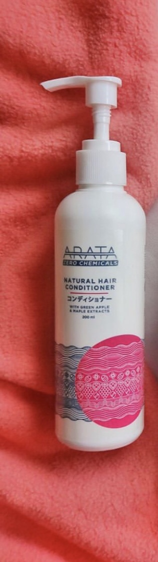 Arata Green Apple Raspberry Maple Hair Conditioner-My favourite conditioner-By shriekz-2
