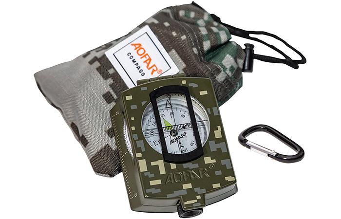AOFAR AF-4580 Military Compass