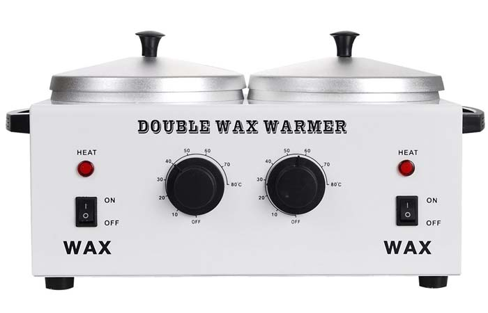 AW Double Professional Wax Warmer