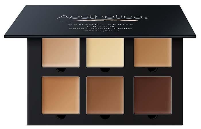 Aesthetica Cosmetics Cream Contour Kit