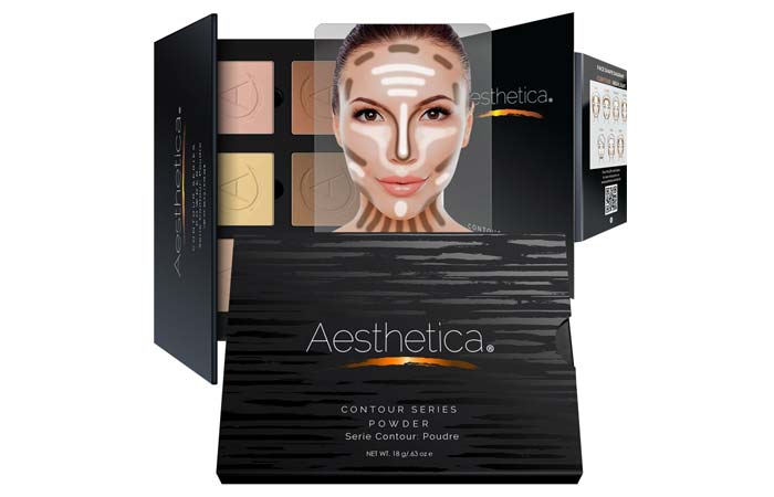 Aesthetica Cosmetics Powder Contour Kit