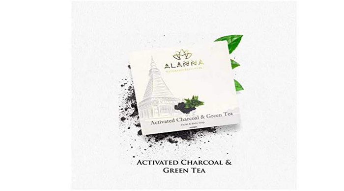 Alanna Handmade Activated Charcoal and Green