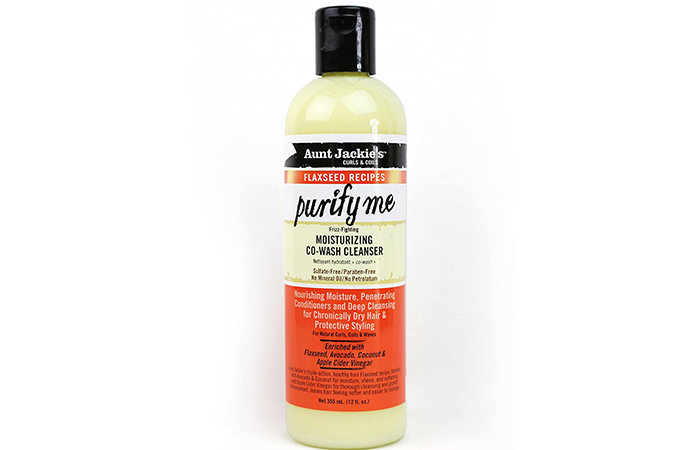 Aunt Jackie's Purify Me Moisturizing Co-wash Cleanser