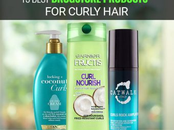 15 Best Drugstore Products For Curly Hair