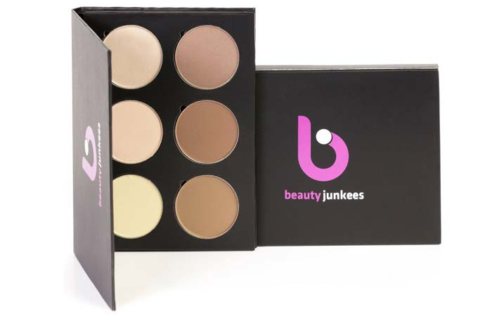 Beauty Junkees Exclusive Contour Highlighting Palette