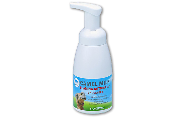 Best Antibacterial Foam Soap: Camel Life Foaming Tattoo Soap