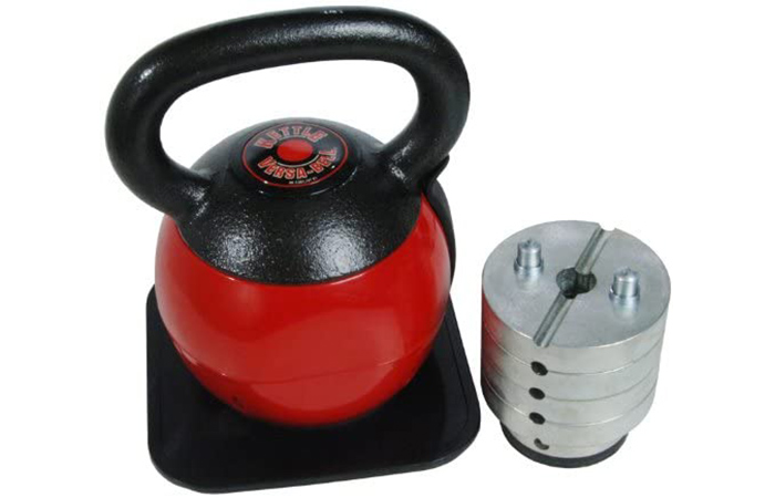Best Balanced: Stamina X Adjustable Kettle Versa-Bell