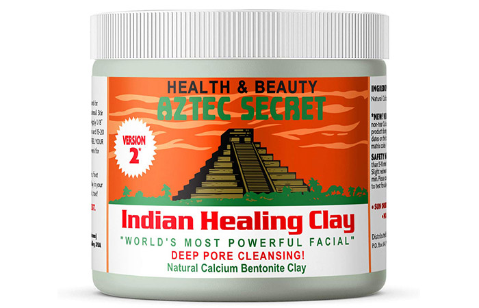 Best Clay Face Mask: Aztec Secret – Indian Healing Clay
