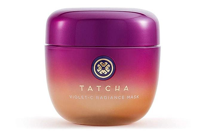 Best Clean Face Mask Tatcha The Violet-C Radiance Mask
