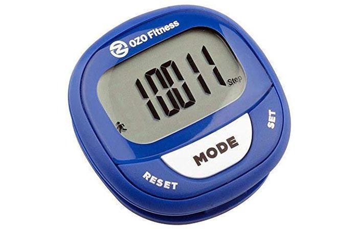 Best Clip-On Pedometer OZO Fitness SC2 Digital Pedometer