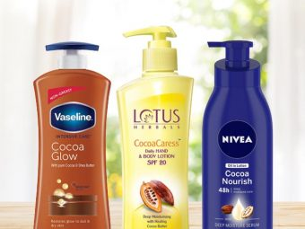 Best Cocoa Butter Body Lotion Names In Hindi