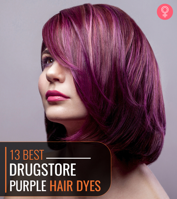 15 Best Drugstore Purple Hair Dyes