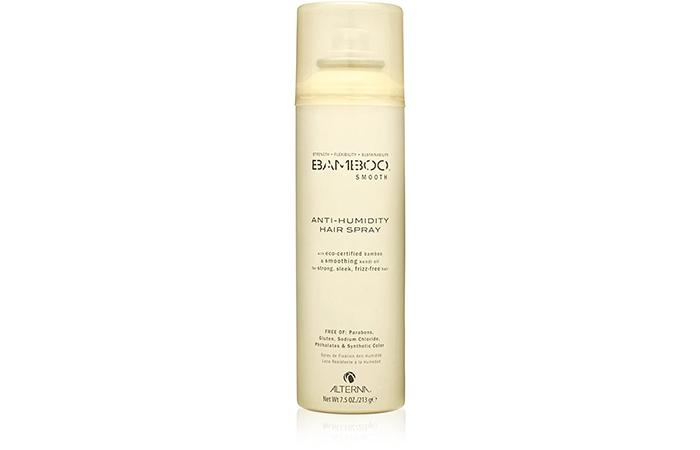 Best Eco-Friendly Hairspray Bamboo Smooth Anti-Humidity Hair Spray