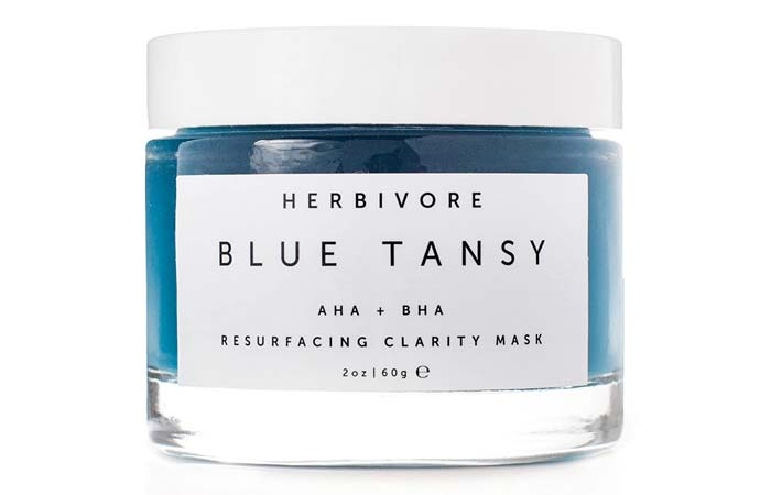 Best For Acne-Prone Skin Herbivore Blue Tansy AHA