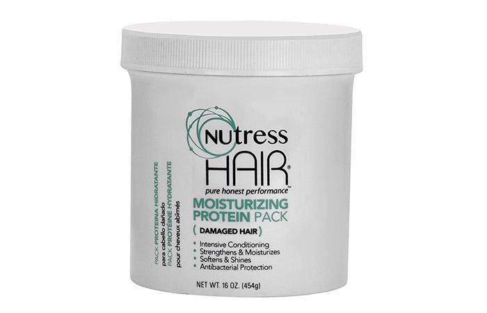Best For Preventing Hair Breakage Nutress Hair Moisturizing Protein Pack